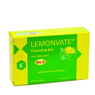 Lemonvate Anti-Bacterial Soap 80g